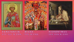 Die Bibel wurde nicht verfälscht durch das Konzil von Nicäa, durch Konstantin oder durch Hieronymus
