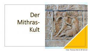 Der Mithras-Kult