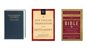 Septuaginta und Dead Sea Scrolls Bible