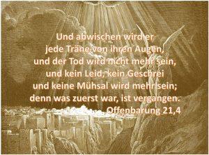 Offenbarung 21,4
