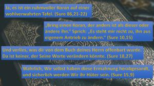 Wurde der Koran geändert?